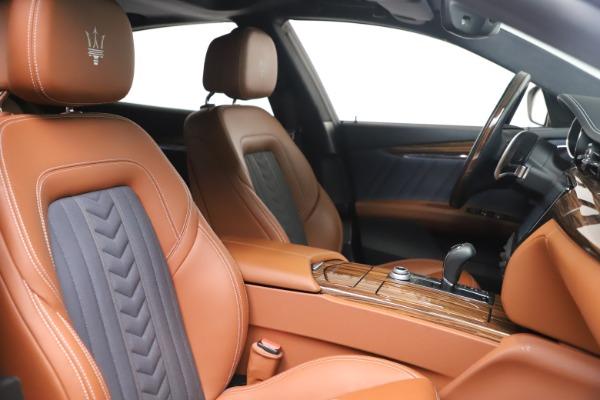 Used 2017 Maserati Quattroporte SQ4 GranLusso/ Zegna for sale $62,900 at Alfa Romeo of Westport in Westport CT 06880 21