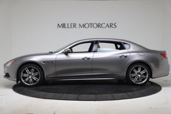 Used 2017 Maserati Quattroporte SQ4 GranLusso/ Zegna for sale $62,900 at Alfa Romeo of Westport in Westport CT 06880 3