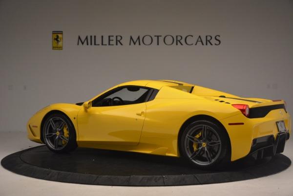 Used 2015 Ferrari 458 Speciale Aperta for sale Sold at Alfa Romeo of Westport in Westport CT 06880 16