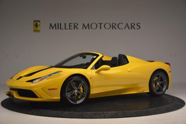 Used 2015 Ferrari 458 Speciale Aperta for sale Sold at Alfa Romeo of Westport in Westport CT 06880 2