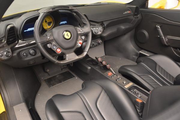Used 2015 Ferrari 458 Speciale Aperta for sale Sold at Alfa Romeo of Westport in Westport CT 06880 25