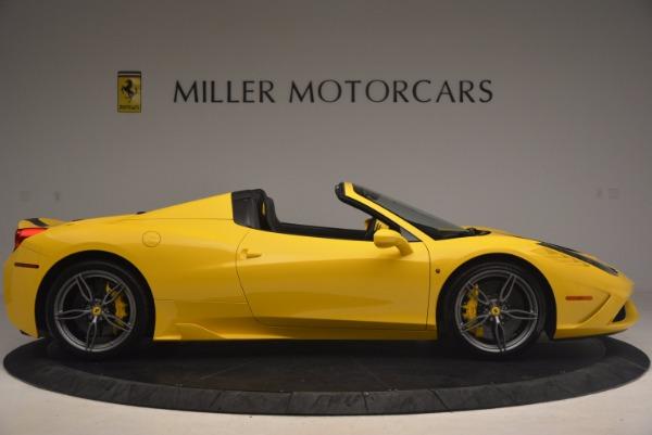 Used 2015 Ferrari 458 Speciale Aperta for sale Sold at Alfa Romeo of Westport in Westport CT 06880 9