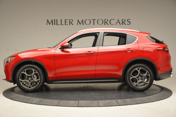 New 2018 Alfa Romeo Stelvio Q4 for sale Sold at Alfa Romeo of Westport in Westport CT 06880 3