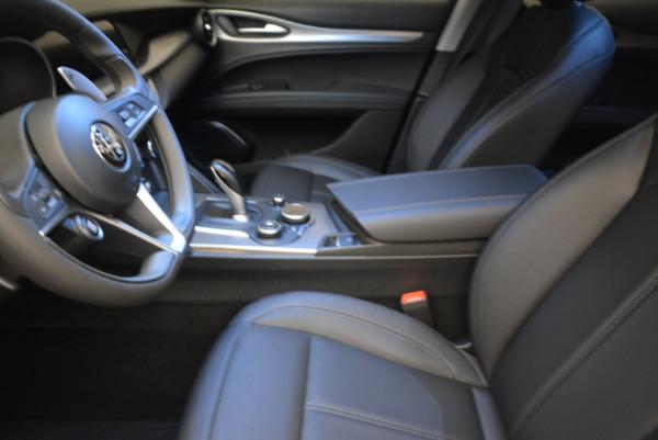 New 2018 Alfa Romeo Stelvio Sport Q4 for sale Sold at Alfa Romeo of Westport in Westport CT 06880 14