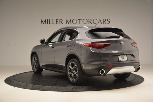 New 2018 Alfa Romeo Stelvio Q4 for sale Sold at Alfa Romeo of Westport in Westport CT 06880 5