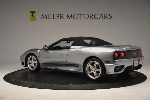 Used 2004 Ferrari 360 Spider 6-Speed Manual for sale Sold at Alfa Romeo of Westport in Westport CT 06880 16