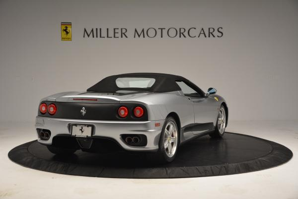 Used 2004 Ferrari 360 Spider 6-Speed Manual for sale Sold at Alfa Romeo of Westport in Westport CT 06880 19