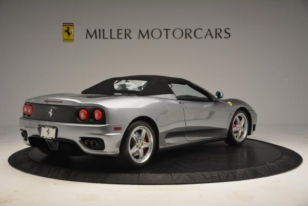 Used 2004 Ferrari 360 Spider 6-Speed Manual for sale Sold at Alfa Romeo of Westport in Westport CT 06880 20