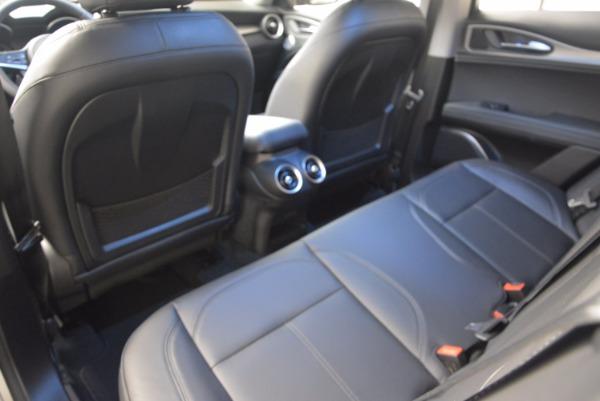 New 2018 Alfa Romeo Stelvio Ti Q4 for sale Sold at Alfa Romeo of Westport in Westport CT 06880 24
