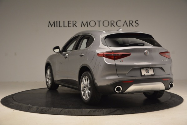 New 2018 Alfa Romeo Stelvio Ti Q4 for sale Sold at Alfa Romeo of Westport in Westport CT 06880 5