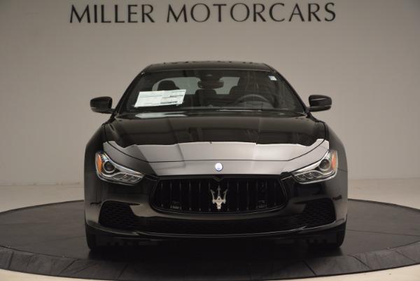 New 2017 Maserati Ghibli Nerissimo Edition S Q4 for sale Sold at Alfa Romeo of Westport in Westport CT 06880 12
