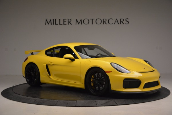 Used 2016 Porsche Cayman GT4 for sale Sold at Alfa Romeo of Westport in Westport CT 06880 10