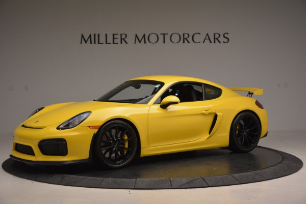 Used 2016 Porsche Cayman GT4 for sale Sold at Alfa Romeo of Westport in Westport CT 06880 2