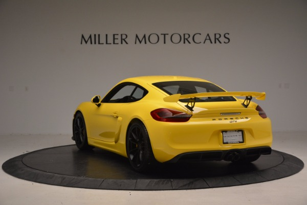 Used 2016 Porsche Cayman GT4 for sale Sold at Alfa Romeo of Westport in Westport CT 06880 5