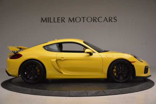 Used 2016 Porsche Cayman GT4 for sale Sold at Alfa Romeo of Westport in Westport CT 06880 9