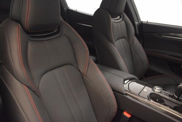 New 2017 Maserati Ghibli Nerissimo Edition S Q4 for sale Sold at Alfa Romeo of Westport in Westport CT 06880 18