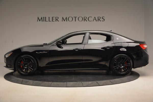 New 2017 Maserati Ghibli Nerissimo Edition S Q4 for sale Sold at Alfa Romeo of Westport in Westport CT 06880 3