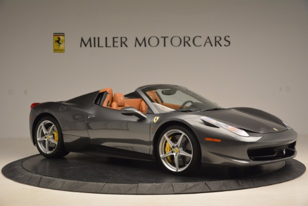 Used 2015 Ferrari 458 Spider for sale Sold at Alfa Romeo of Westport in Westport CT 06880 10