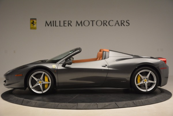 Used 2015 Ferrari 458 Spider for sale Sold at Alfa Romeo of Westport in Westport CT 06880 3