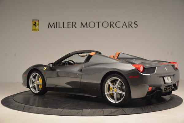 Used 2015 Ferrari 458 Spider for sale Sold at Alfa Romeo of Westport in Westport CT 06880 4
