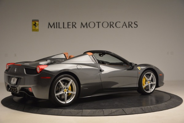 Used 2015 Ferrari 458 Spider for sale Sold at Alfa Romeo of Westport in Westport CT 06880 8