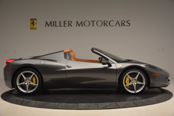 Used 2015 Ferrari 458 Spider for sale Sold at Alfa Romeo of Westport in Westport CT 06880 9