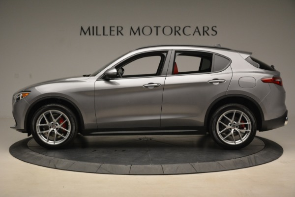 New 2018 Alfa Romeo Stelvio Ti Sport Q4 for sale Sold at Alfa Romeo of Westport in Westport CT 06880 3
