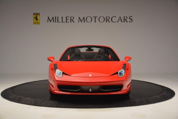 Used 2014 Ferrari 458 Spider for sale Sold at Alfa Romeo of Westport in Westport CT 06880 12