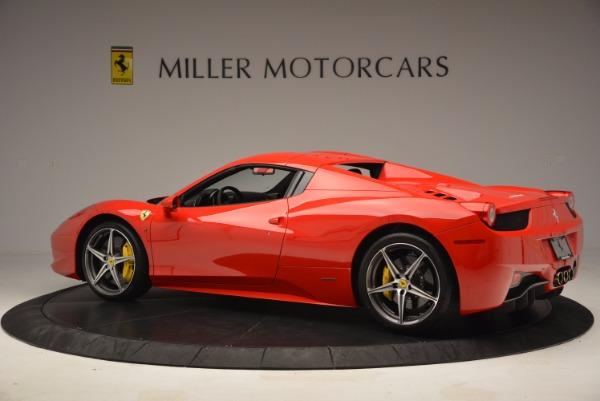 Used 2014 Ferrari 458 Spider for sale Sold at Alfa Romeo of Westport in Westport CT 06880 16