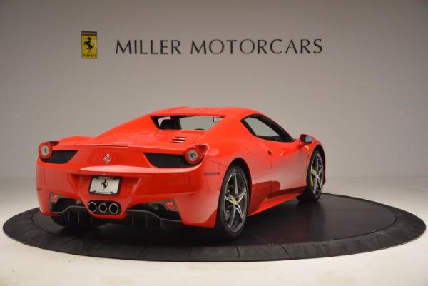 Used 2014 Ferrari 458 Spider for sale Sold at Alfa Romeo of Westport in Westport CT 06880 19