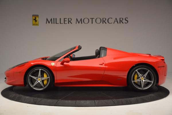 Used 2014 Ferrari 458 Spider for sale Sold at Alfa Romeo of Westport in Westport CT 06880 3