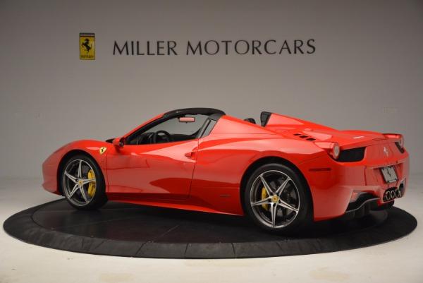 Used 2014 Ferrari 458 Spider for sale Sold at Alfa Romeo of Westport in Westport CT 06880 4