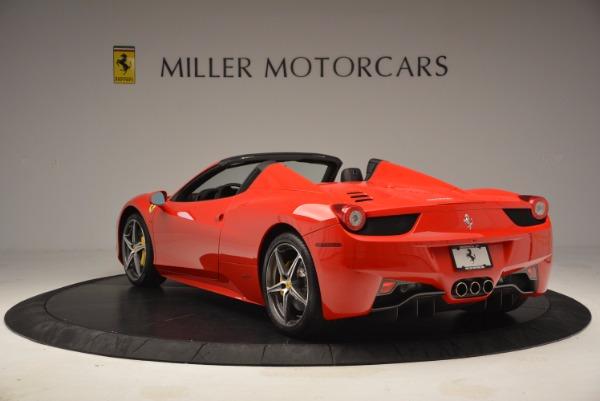 Used 2014 Ferrari 458 Spider for sale Sold at Alfa Romeo of Westport in Westport CT 06880 5