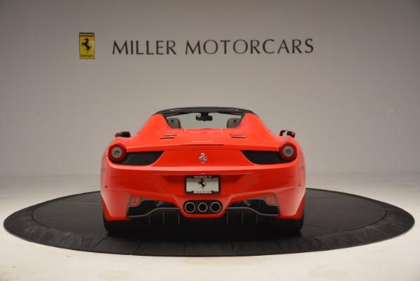 Used 2014 Ferrari 458 Spider for sale Sold at Alfa Romeo of Westport in Westport CT 06880 6