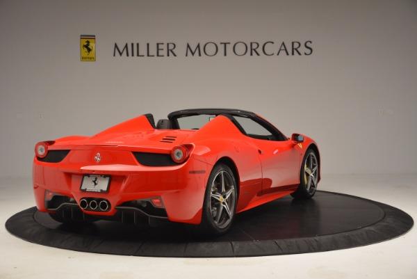Used 2014 Ferrari 458 Spider for sale Sold at Alfa Romeo of Westport in Westport CT 06880 7