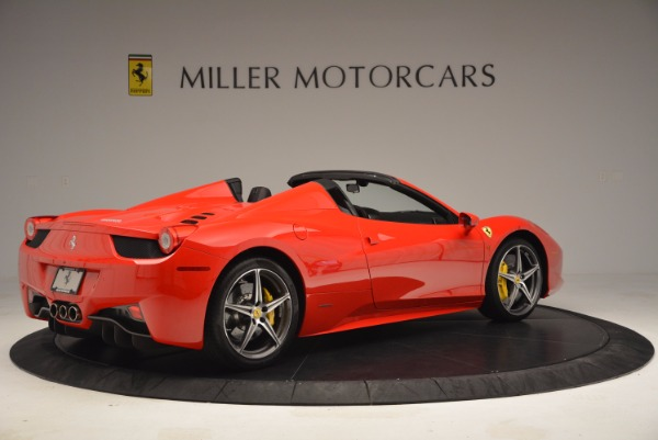 Used 2014 Ferrari 458 Spider for sale Sold at Alfa Romeo of Westport in Westport CT 06880 8
