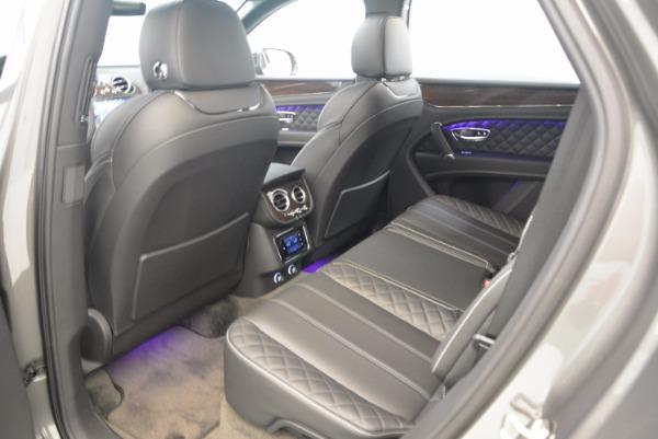 New 2018 Bentley Bentayga Black Edition for sale Sold at Alfa Romeo of Westport in Westport CT 06880 27