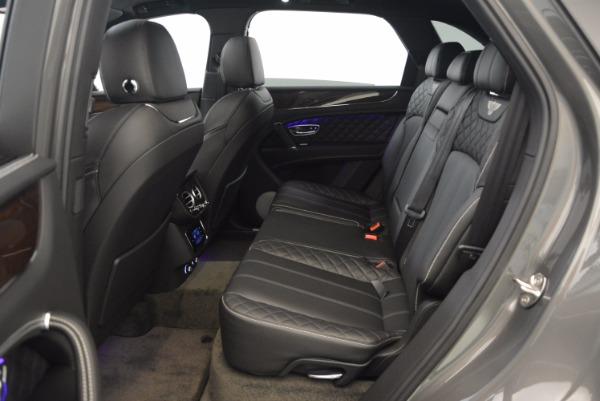 New 2018 Bentley Bentayga Black Edition for sale Sold at Alfa Romeo of Westport in Westport CT 06880 28