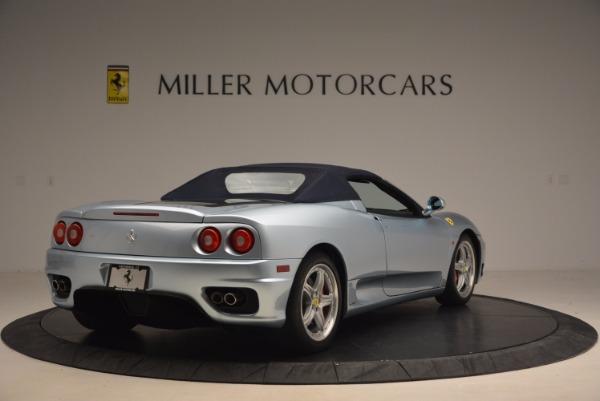 Used 2003 Ferrari 360 Spider 6-Speed Manual for sale Sold at Alfa Romeo of Westport in Westport CT 06880 19