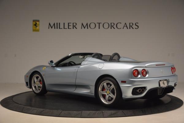 Used 2003 Ferrari 360 Spider 6-Speed Manual for sale Sold at Alfa Romeo of Westport in Westport CT 06880 4