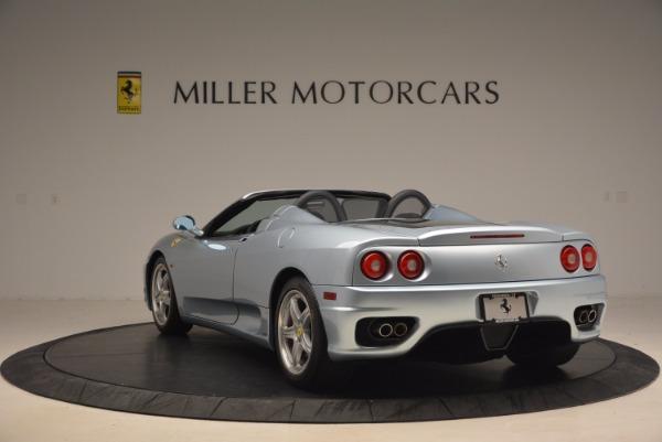 Used 2003 Ferrari 360 Spider 6-Speed Manual for sale Sold at Alfa Romeo of Westport in Westport CT 06880 5