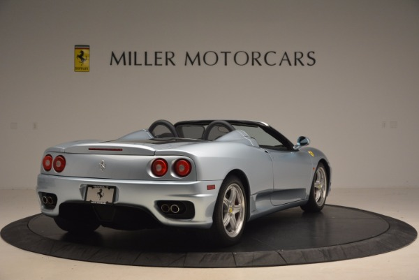 Used 2003 Ferrari 360 Spider 6-Speed Manual for sale Sold at Alfa Romeo of Westport in Westport CT 06880 7