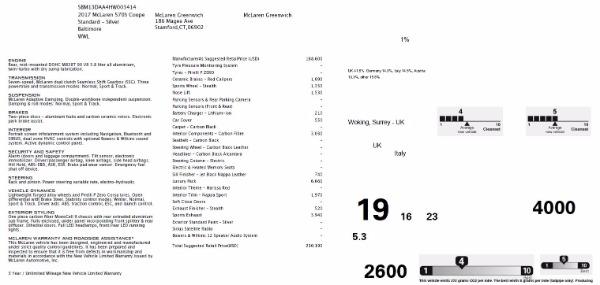 Used 2017 McLaren 570S for sale Sold at Alfa Romeo of Westport in Westport CT 06880 22