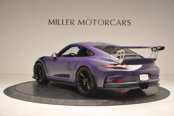 Used 2016 Porsche 911 GT3 RS for sale Sold at Alfa Romeo of Westport in Westport CT 06880 5
