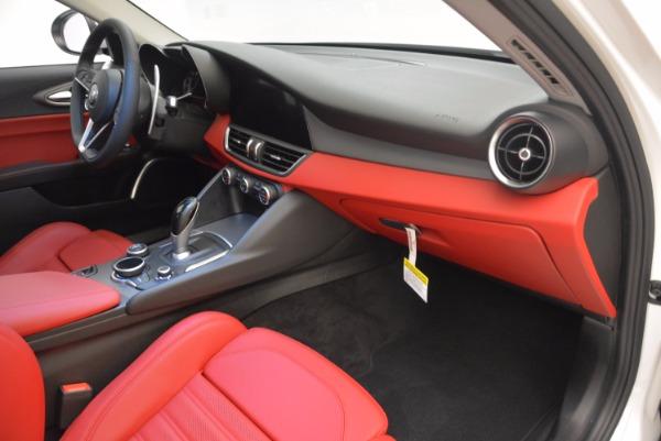 New 2017 Alfa Romeo Giulia Ti Q4 for sale Sold at Alfa Romeo of Westport in Westport CT 06880 16