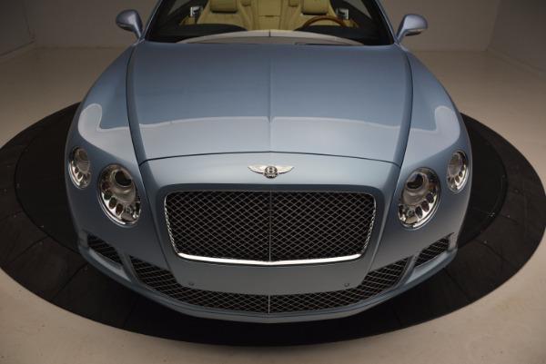 Used 2012 Bentley Continental GTC W12 for sale Sold at Alfa Romeo of Westport in Westport CT 06880 24