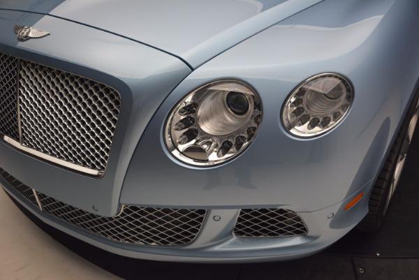 Used 2012 Bentley Continental GTC W12 for sale Sold at Alfa Romeo of Westport in Westport CT 06880 25