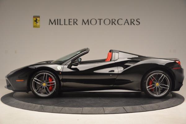 Used 2017 Ferrari 488 Spider for sale Sold at Alfa Romeo of Westport in Westport CT 06880 3