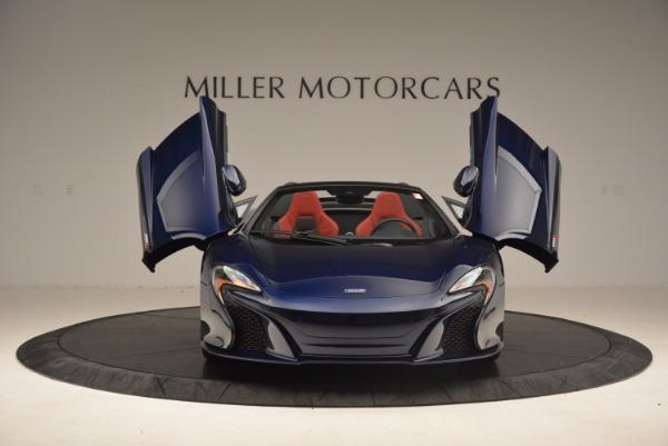 Used 2015 McLaren 650S Spider for sale Sold at Alfa Romeo of Westport in Westport CT 06880 13