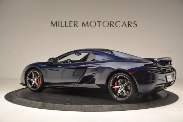 Used 2015 McLaren 650S Spider for sale Sold at Alfa Romeo of Westport in Westport CT 06880 17